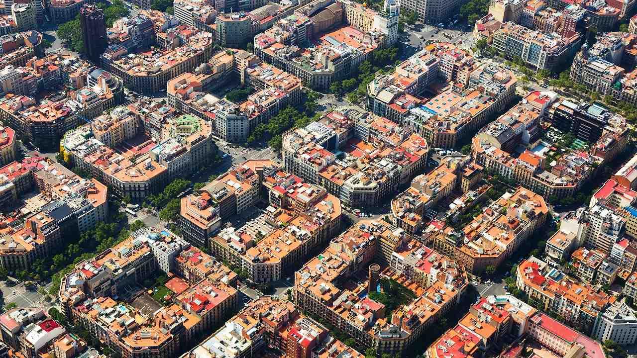 eixample bölgesi, barcelona
