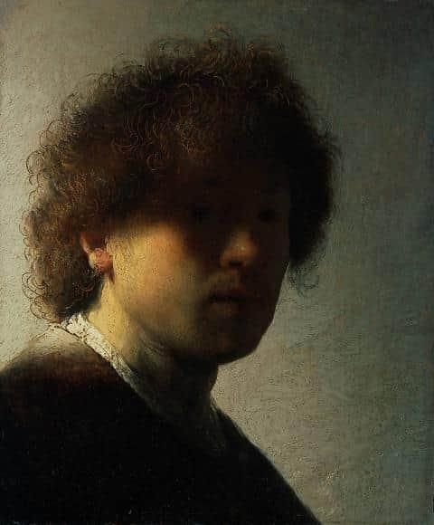 Genç Otoportre Rembrandt