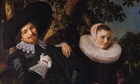 Isaac Massa Beatrix Van der Laen'in Evlilik Portresi