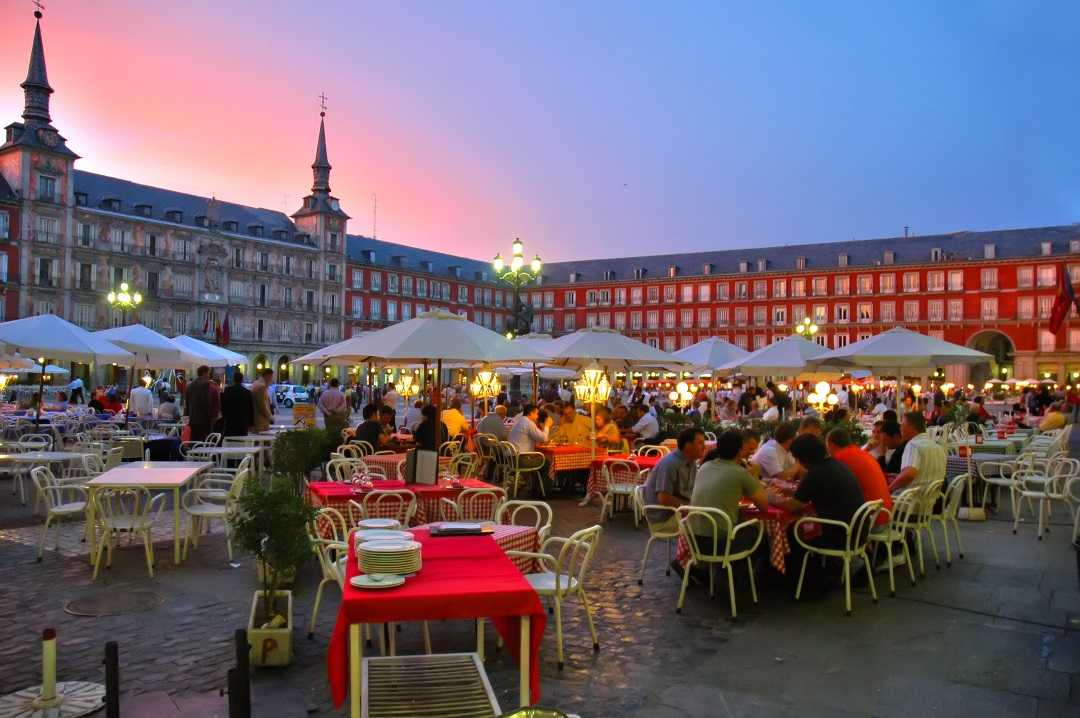 Madrid'de Yaşam, Plaza Mayor