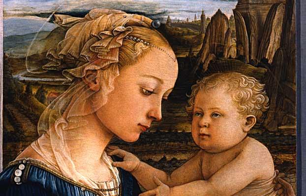 Meryem Ve Bebek Isa Filippo Lippi