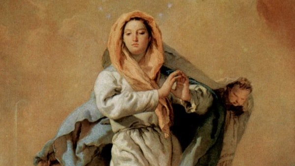 Hz Meryem'in Masumiyeti, Giambattist Tiepolo, Prado