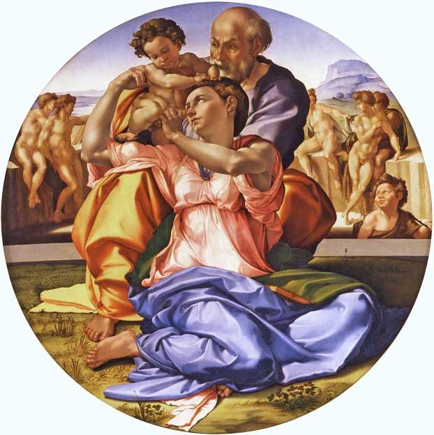 Michelangelo Tondo Doni