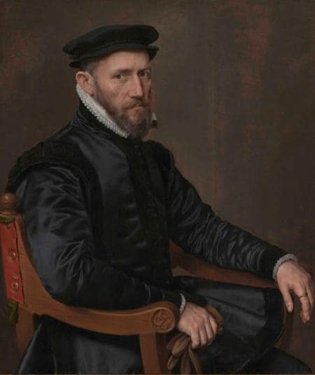 Sir Thomas Gresham Portresi Anthonius Mor