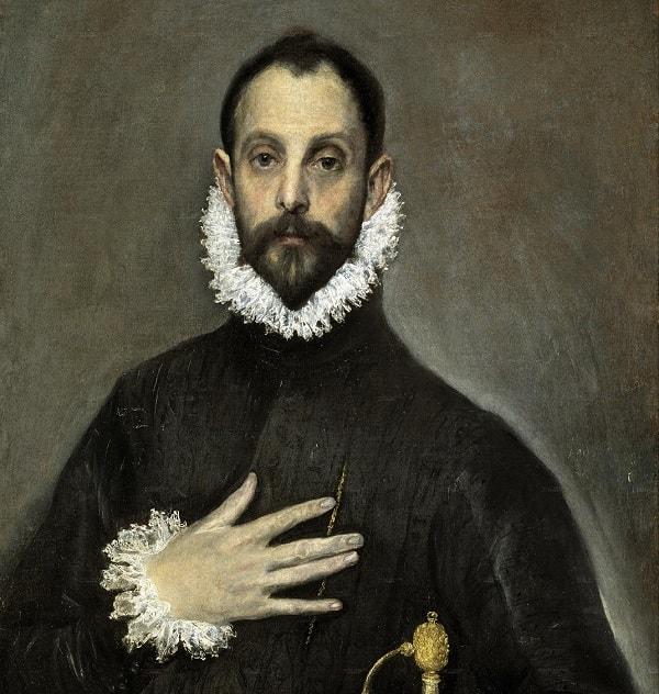Prado Müzesi, Eli Göğsünde Soylu, El Greco