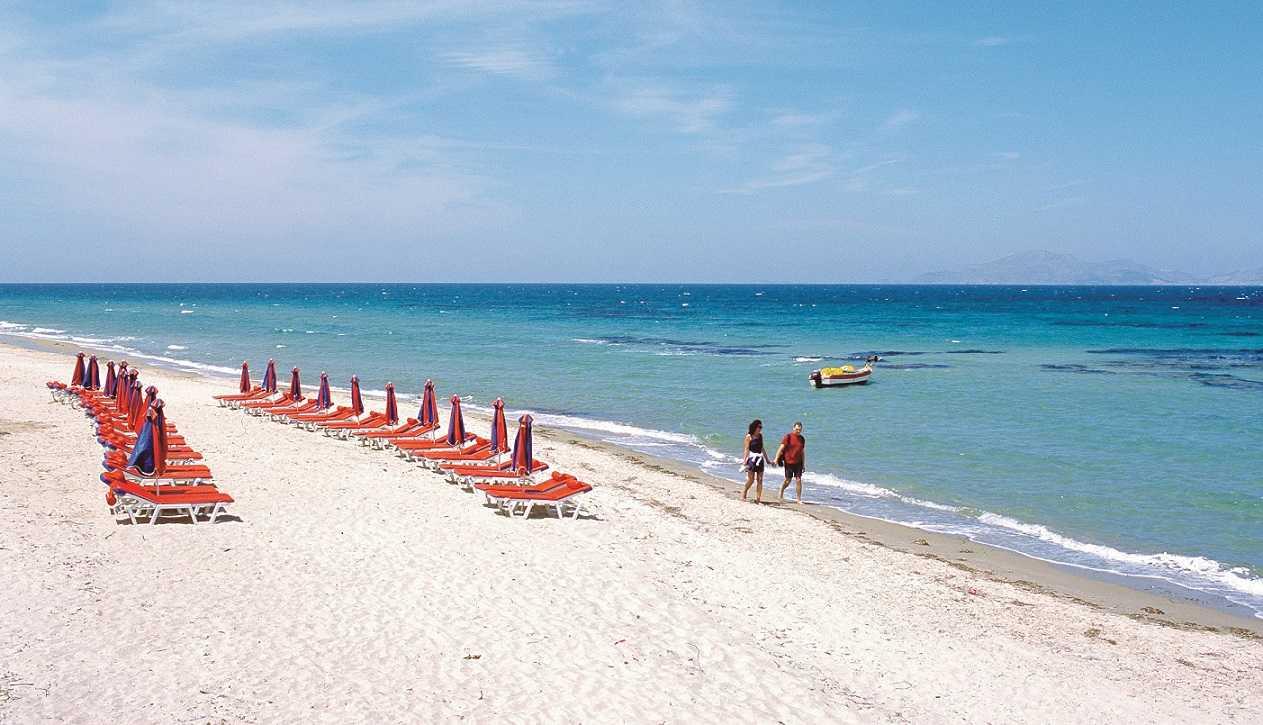 Kos Tigaki plajı