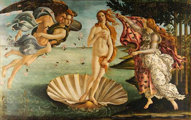 Venusun Dogusu Botticelli
