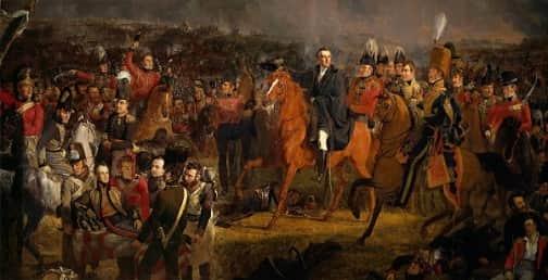 Waterloo Savaşı / Jan Willem Pieneman