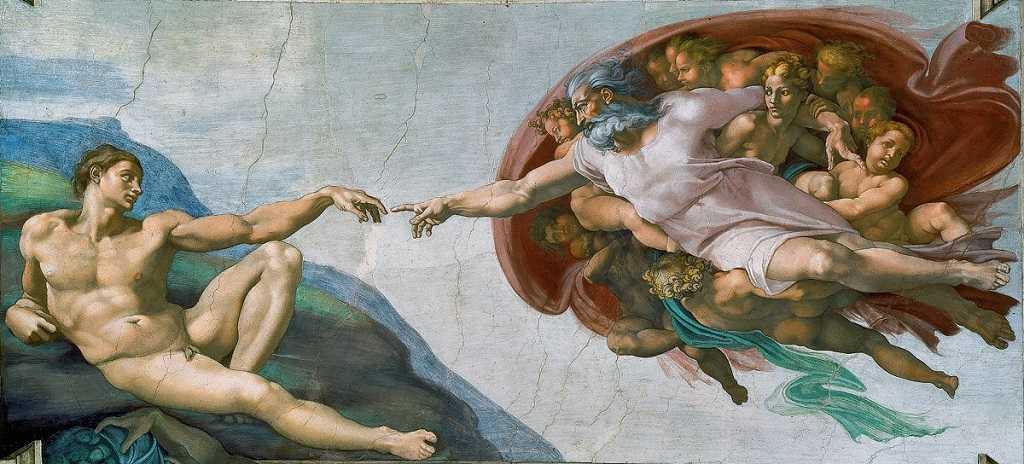 ademin yaratılışı, sistine şapeli