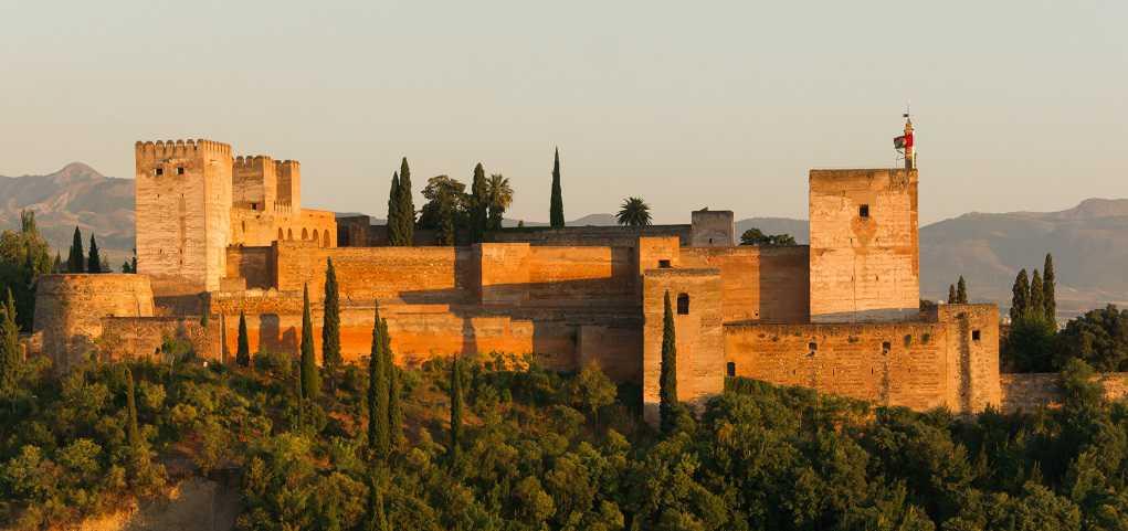 Torre de Alcazaba en Granada
