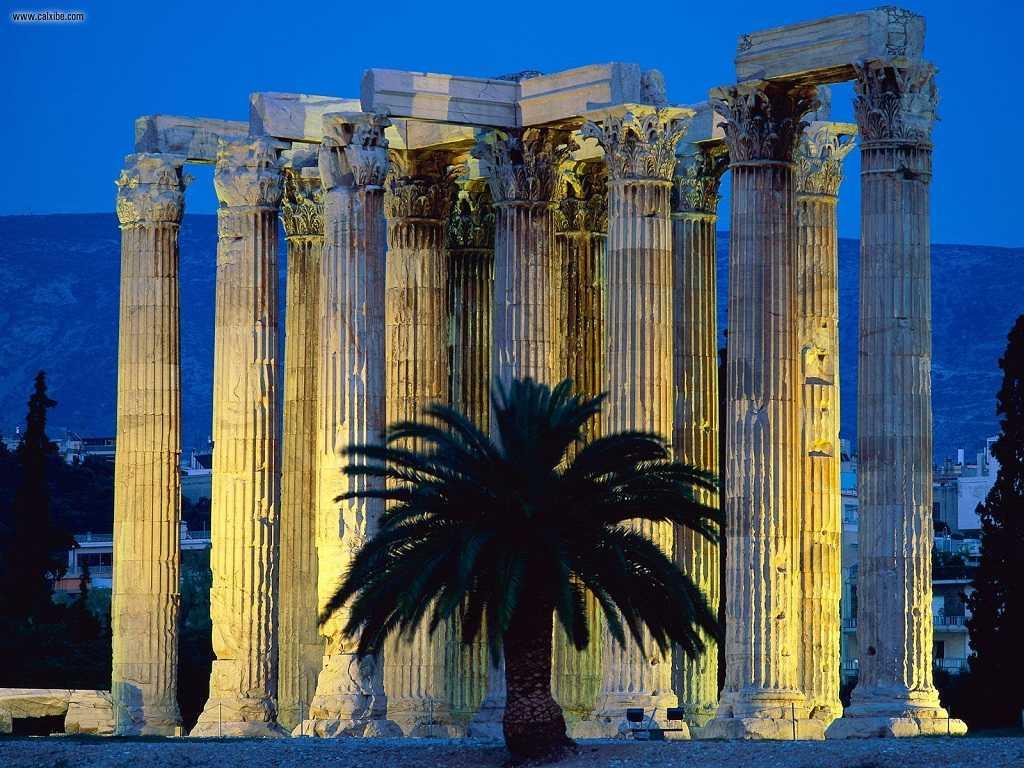 atina zeus tapınağı