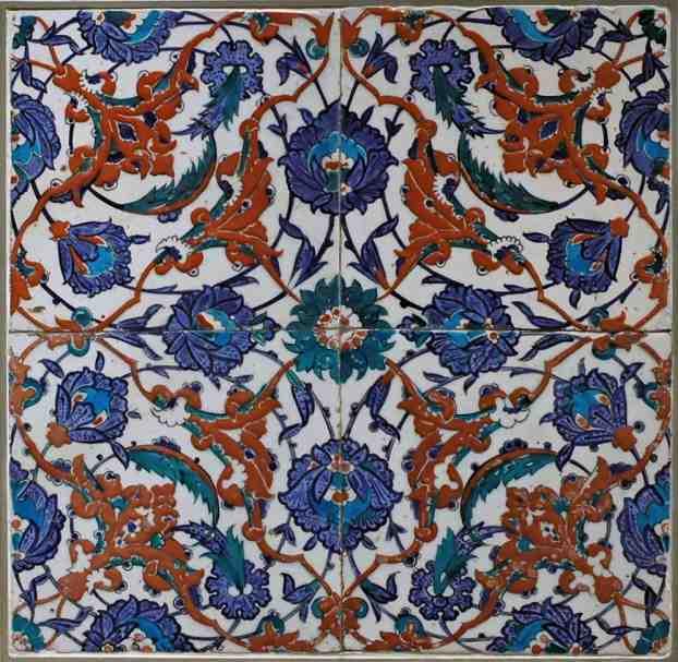 artefactos históricos otomano islámico en Museo del Louvre