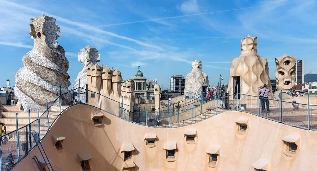 Gaudi'nin Eserleri, Casa Mila, Barcelona