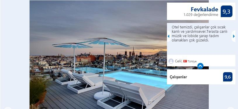 barcelona merkezi en iyi otel