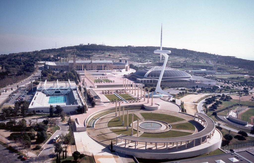 Barselona olimpiyat stadyumu, Sant Jordi Spor Salonu, Montjuic, Barcelona Olympics Stadium, Sant Jordi Sports House