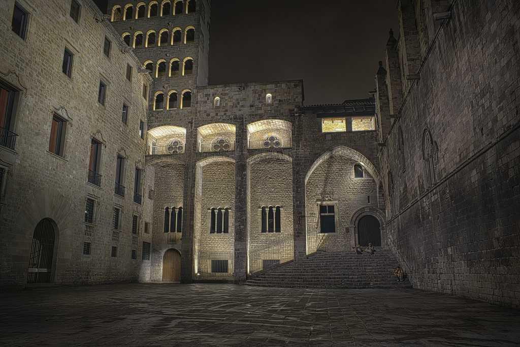 Palau Reial, Kraliyet Sarayı, Barcelona, Barri Gotic