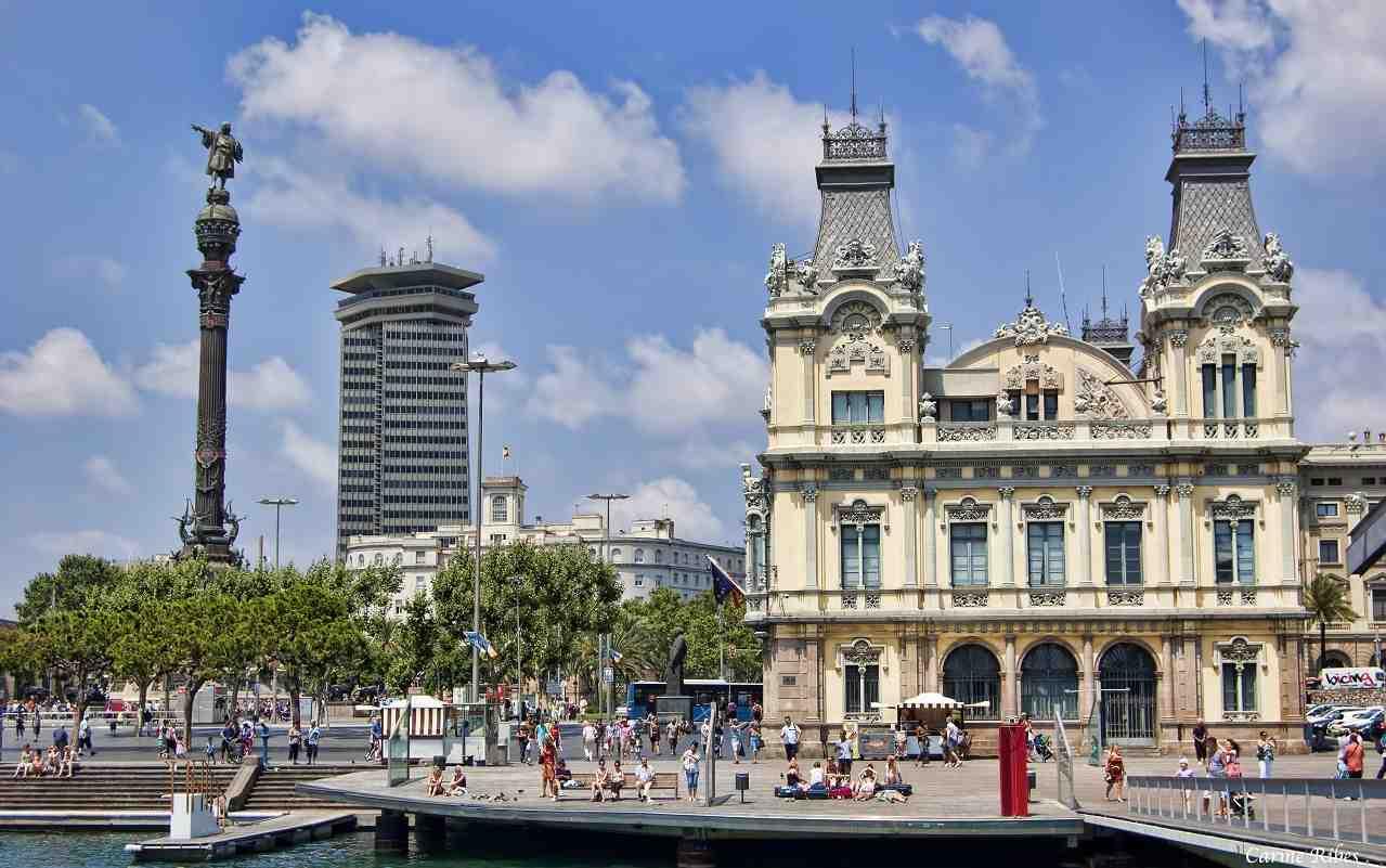 Barcelona!da gezilecek yerler, Kolomb Anıtı