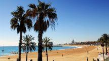 Barselona plajları