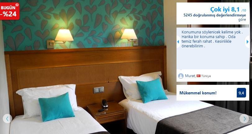 barcelona merkezi ucuz otel