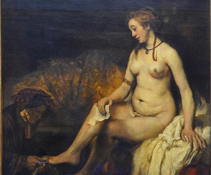 Que pinturas importantes a ver en museo del louvre