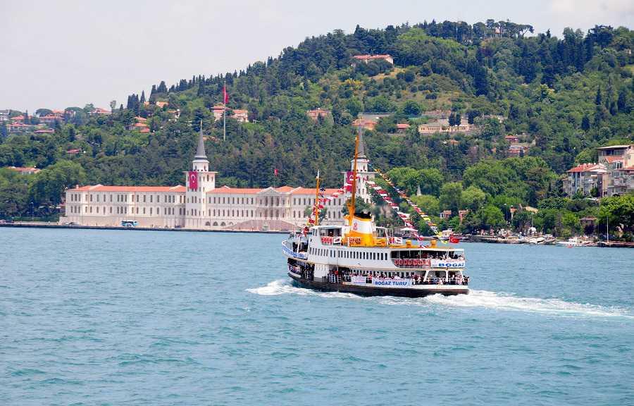 bosporus rundtur medsvensk turistguide