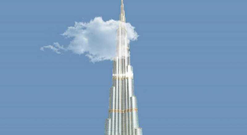 sisäänpääsylippu burj khalifalle Dubaissa
