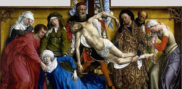 Çarmıhtan İndiriliş, Roger van der Weyden, Prado Müzesi, Önemli Tablolar
