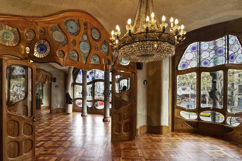 Casa Batllo'nun içi, Casa Batllo, Barselona, Gaudi, Barcelona