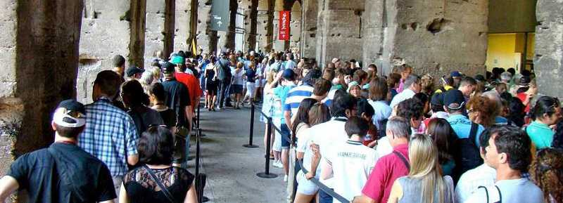colosseum skip the line ticket