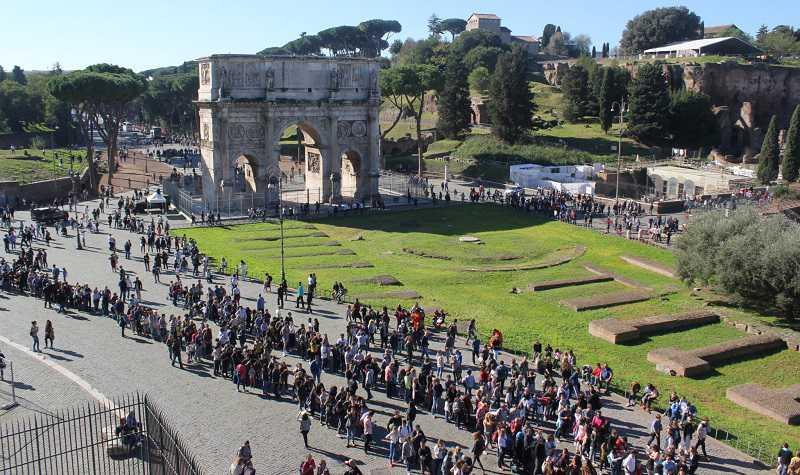 colosseum vatican ticket