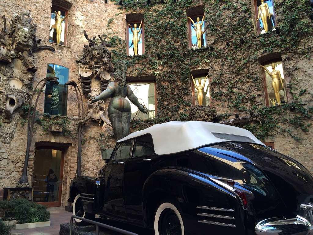 yağmurlu taksi, salvador dali müzesi