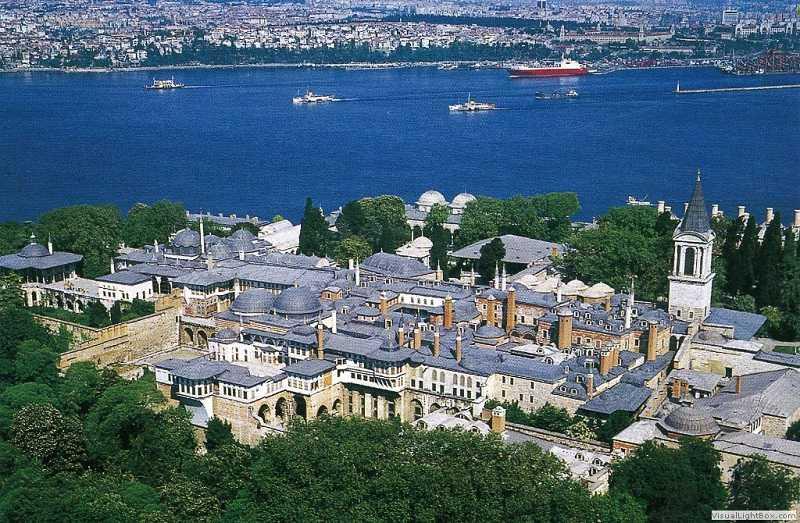 Wesentliche historische Sehenswürdigkeiten in der Altstadt von Istanbul