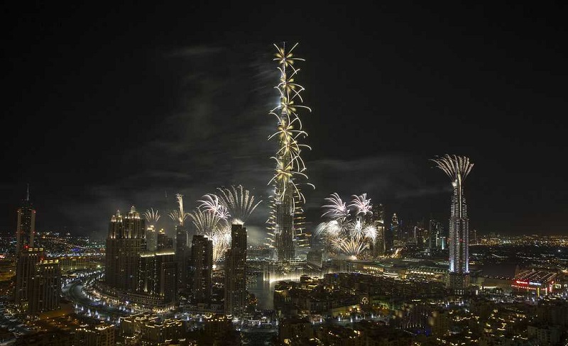 fakta og tall for Burj Khalifa i Dubai