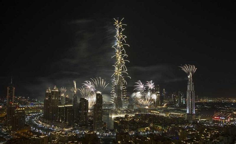 è l'edificio più alto del mondo, burj al khalifa