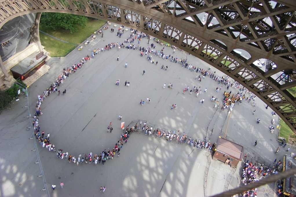 Eiffel Tower Online Entrance Ticket