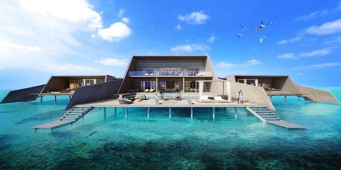 en lüx maldiv oteli