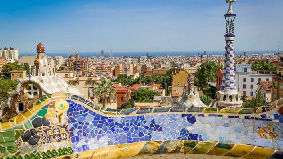 parque guell gaudi barcelona