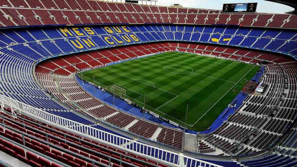 estadio nou camp barcelona catalonia
