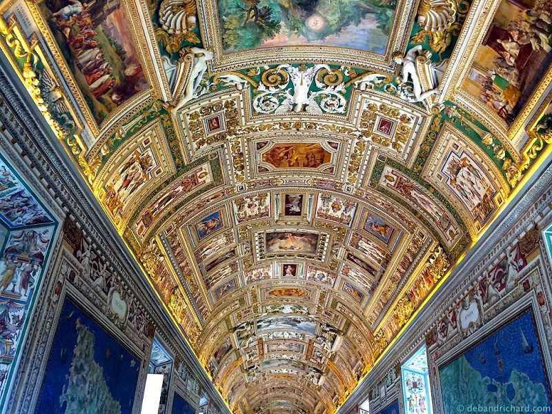 galerie der karten vatikan museen