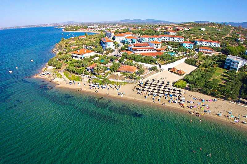 sithonia en güzel plajları