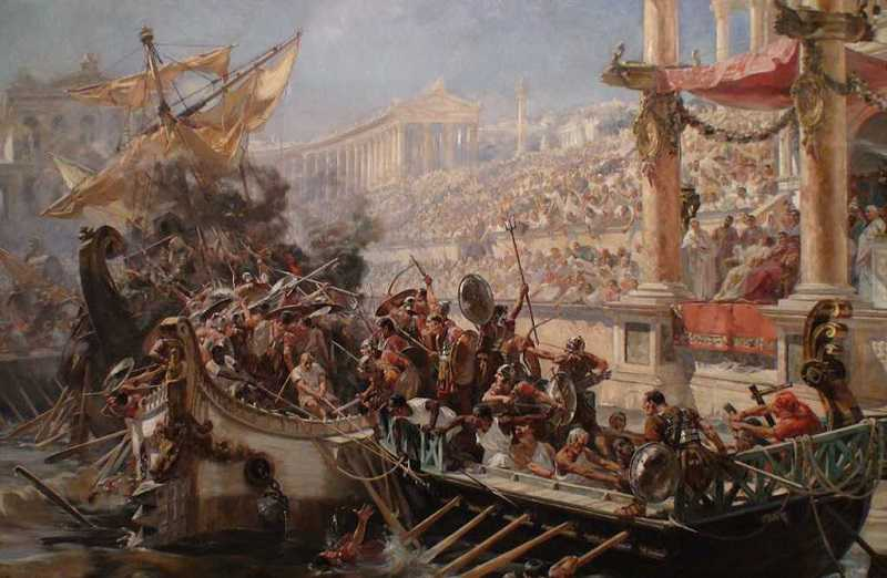 Gladiatorenkämpfe Colosseum Rom