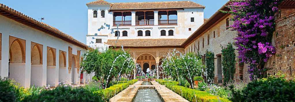 Jardines Generalife Y Palacio