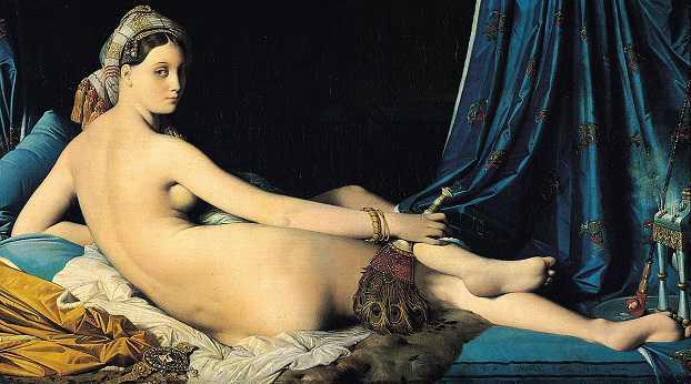 Museo del Louvre, Pintura de Ingres