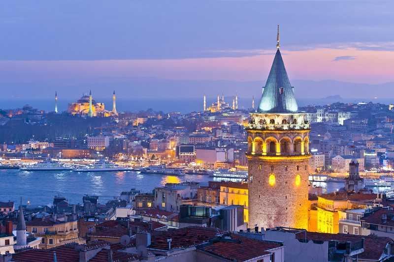 gyalogtúra isztambulban