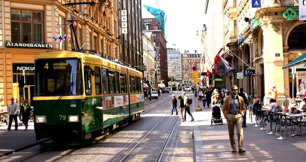Guia de português em Helsinque Finlândia