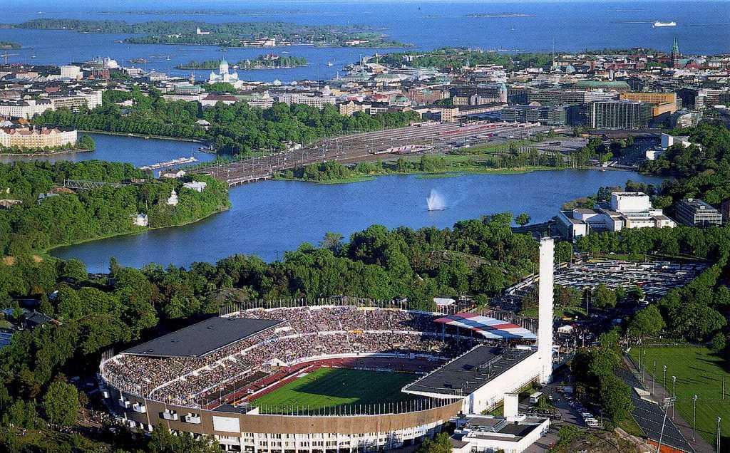 Helsinki'nin Önemli Yapıları