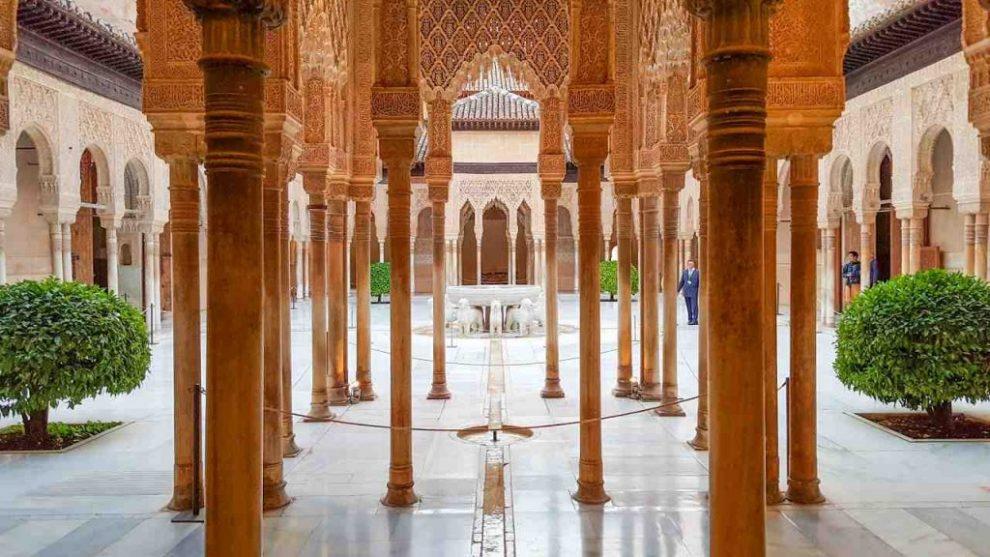 historia de musulmanes y alhambra granada