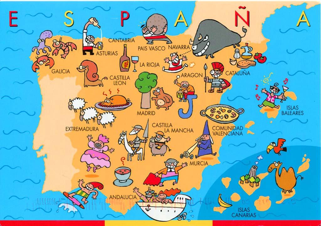 ispanya haritası