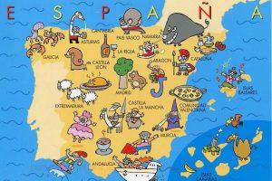 ispanya'da gezilecek yerler haritası