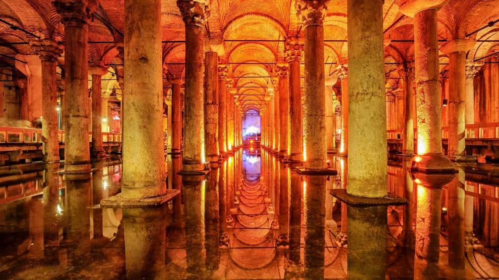 private city tour in istanbul, basilica cistern